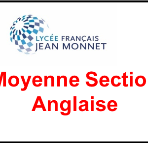Moyenne Section Anglaise